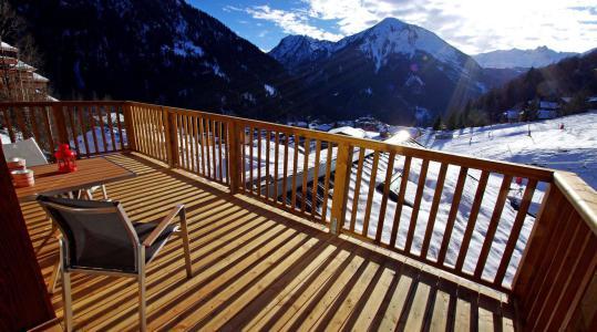Vacances en montagne Résidence les Balcons Etoilés - Champagny-en-Vanoise - Balcon
