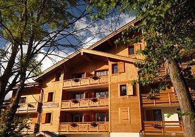 Location au ski Residence Les Belles Roches - Notre Dame de Bellecombe - Extérieur été