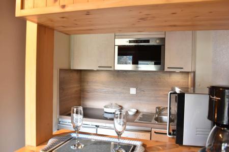 Vacances en montagne Studio 4 personnes (21) - Résidence les Brimbelles - Méribel - Séjour