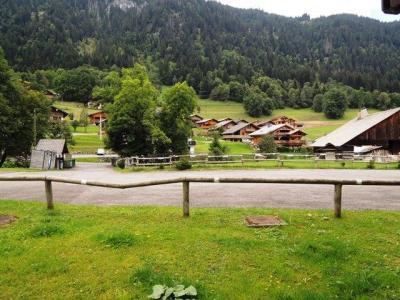 Location au ski Studio coin montagne 4 personnes (1) - Residence Les Campanules - Chatel - Extérieur été
