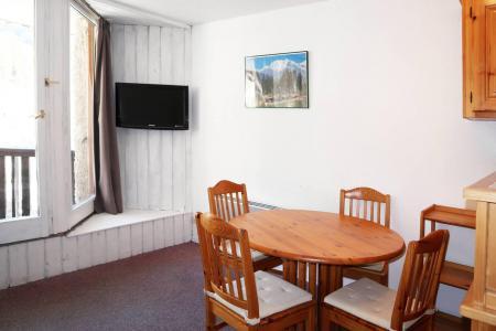 Holiday in mountain resort Studio sleeping corner 4 people (010) - Résidence les Carlines - Les Orres