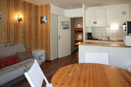 Holiday in mountain resort Studio sleeping corner 4 people (021) - Résidence les Carlines - Les Orres
