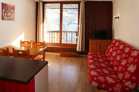 Holiday in mountain resort Studio sleeping corner 4 people (029) - Résidence les Carlines - Les Orres