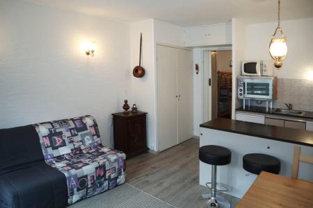 Holiday in mountain resort Studio sleeping corner 4 people (012) - Résidence les Carlines - Les Orres