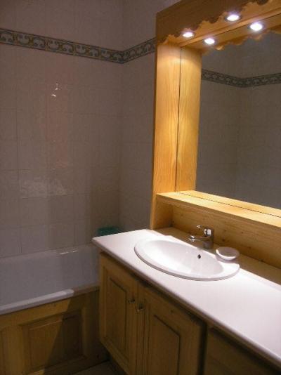 Vacances en montagne Appartement 2 pièces 4 personnes (E7) - Résidence les Carlines - Méribel - Salle de bains