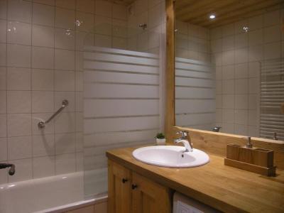 Vacances en montagne Appartement 2 pièces 5 personnes (D16) - Résidence les Carlines - Méribel - Salle de bains