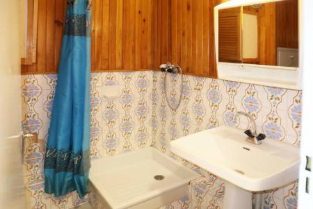 Holiday in mountain resort Studio sleeping corner 4 people (028) - Résidence les Carlines - Les Orres - Shower room