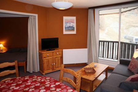 Holiday in mountain resort 2 room apartment sleeping corner 6 people (048) - Résidence les Cembros - Les Orres