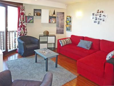 Holiday in mountain resort 3 room duplex apartment 8 people (060) - Résidence les Cembros - Les Orres - Pull-out sofa