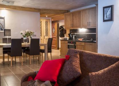 Vacances en montagne Résidence les Chalets d'Angèle - Châtel - Cuisine ouverte