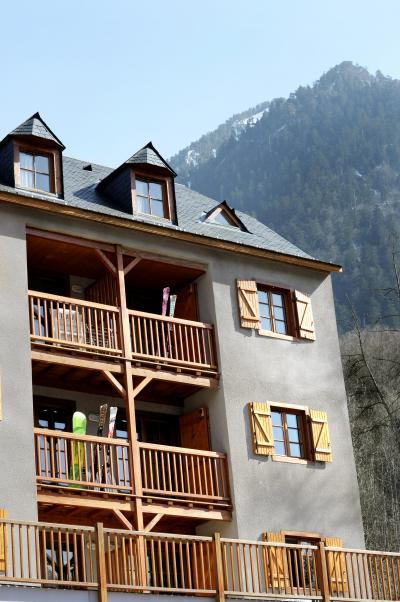 Location au ski Residence Les Chalets D'estive - Cauterets - Extérieur été
