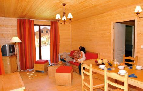 Vacances en montagne Résidence les Chalets d'Evian - Thollon les Mémises - Coin repas