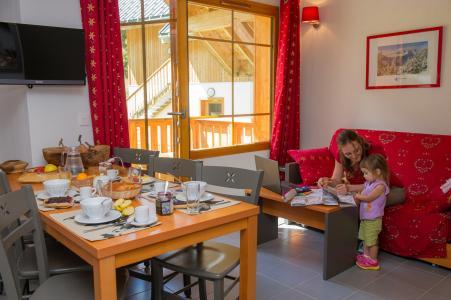 Vacances en montagne Résidence les Chalets de Belledonne - Saint Colomban des Villards - Séjour