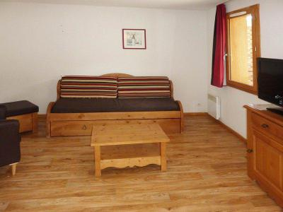 Holiday in mountain resort 3 room duplex apartment sleeping corner 8 people (801) - Résidence les Chalets de Bois Méan - Les Orres - Double bed