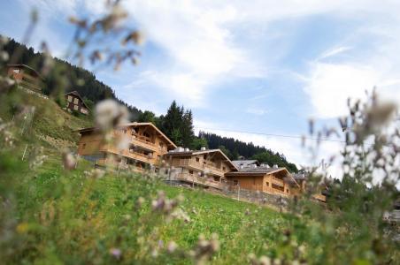 Location Les Carroz : Résidence les Chalets de Jouvence été