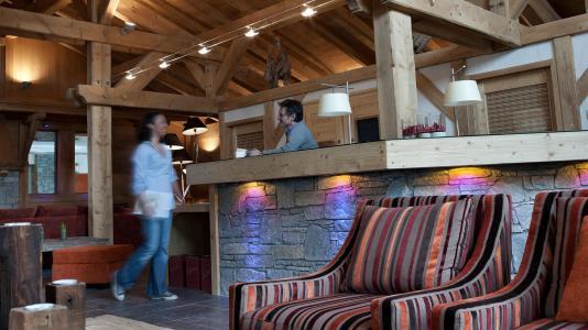 Vacances en montagne Résidence les Chalets de Jouvence - Les Carroz - Réception
