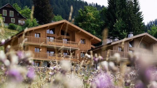 Alquiler al esquí Résidence les Chalets de Jouvence - Les Carroz - Verano