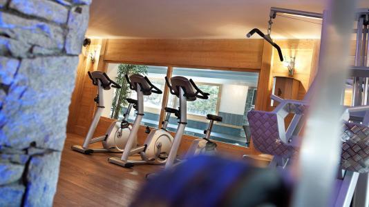 Vacances en montagne Résidence les Chalets de Jouvence - Les Carroz - Espace fitness