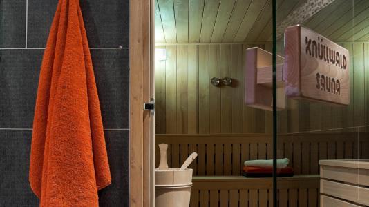 Vacances en montagne Résidence les Chalets de Jouvence - Les Carroz - Sauna