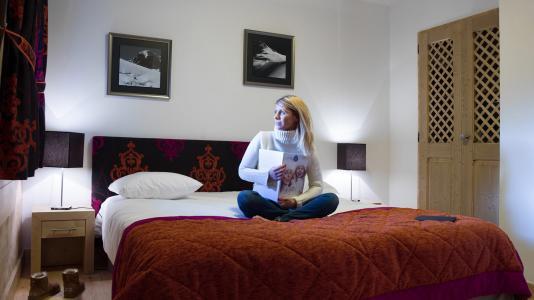 Vacances en montagne Résidence les Chalets de Layssia - Samoëns - Chambre