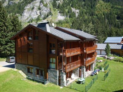Rent in ski resort Résidence les Chalets de Napremont - Pralognan-la-Vanoise - Summer outside