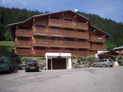 Location au ski Résidence les Chalets de Perthuis - Châtel - Extérieur été