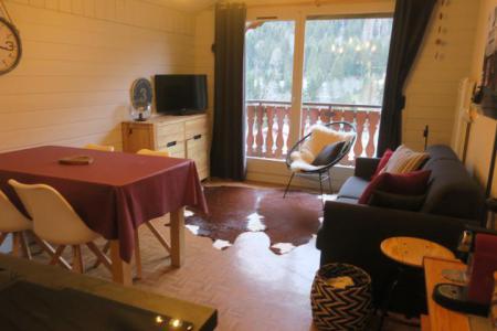 Vacances en montagne Appartement 2 pièces 5 personnes (B24) - Résidence les Chalets de Perthuis - Châtel - Banquette