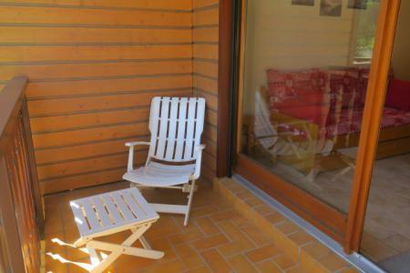 Vacances en montagne Appartement 2 pièces 6 personnes (A18) - Résidence les Chalets de Perthuis - Châtel - Balcon