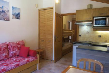 Vacances en montagne Appartement 2 pièces 6 personnes (A18) - Résidence les Chalets de Perthuis - Châtel - Canapé-lit