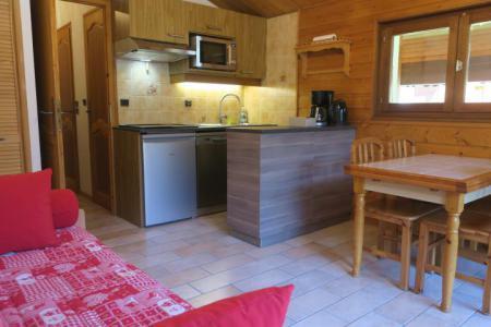 Vacances en montagne Appartement 2 pièces 6 personnes (A18) - Résidence les Chalets de Perthuis - Châtel - Séjour