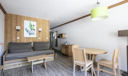 Аренда на лыжном курорте Квартира студия для 3 чел. (Confort 18m²-1) - Résidence les Chalets de Solaise - Maeva Home - Val d'Isère - Салон