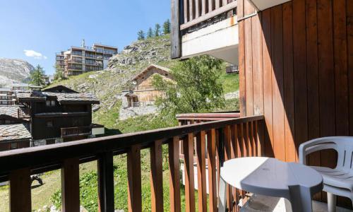 Аренда на лыжном курорте Квартира студия для 3 чел. (Confort 27m²-1) - Résidence les Chalets de Solaise - Maeva Home - Val d'Isère - летом под открытым небом