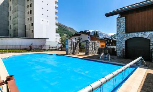 Аренда на лыжном курорте Квартира студия для 3 чел. (Confort 18m²) - Résidence les Chalets de Solaise - Maeva Home - Val d'Isère - летом под открытым небом