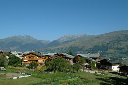 Vacances en montagne Résidence les Chalets de Wengen - Montchavin La Plagne - Extérieur été