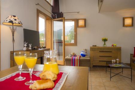 Vacances en montagne Résidence les Chalets de Wengen - Montchavin La Plagne - Coin repas
