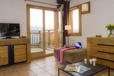 Vacances en montagne Résidence les Chalets de Wengen - Montchavin La Plagne - Table basse