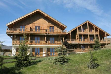 Summer accommodation Résidence les Chalets des Cimes