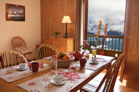 Vacances en montagne Résidence les Chalets des Cimes - La Toussuire - Salle à manger