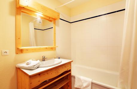 Vacances en montagne Résidence les Chalets des Cimes - La Toussuire - Salle de bains
