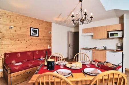 Vacances en montagne Residence Les Chalets Des Evettes - Flumet - Séjour