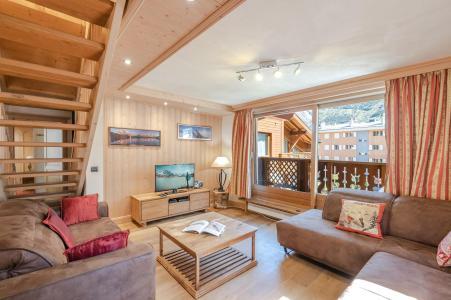Vacances en montagne Appartement duplex 4 pièces 6 personnes (Neva) - Résidence les Chalets du Savoy - Kashmir - Chamonix - Séjour