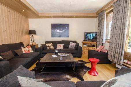 Vacances en montagne Appartement duplex 6 pièces 10-12 personnes (Kashmir) - Résidence les Chalets du Savoy - Kashmir - Chamonix - Séjour