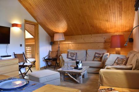 Vacances en montagne Appartement 6 pièces 10 personnes (30) - Résidence les Chandonnelles II - Méribel - Séjour