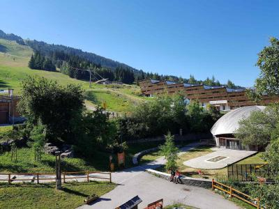 Location au ski Studio 2 personnes (323) - Résidence les Charmettes - Les Arcs - Extérieur été