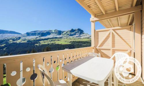 Location au ski Studio 4 personnes (Sélection 27m²-2) - Résidence les Châteaux de Crans - Maeva Home - Flaine - Extérieur été