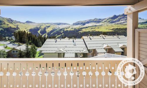 Location au ski Appartement 2 pièces 6 personnes (Prestige 57m²-2) - Résidence les Châteaux de Crans - Maeva Home - Flaine - Extérieur été