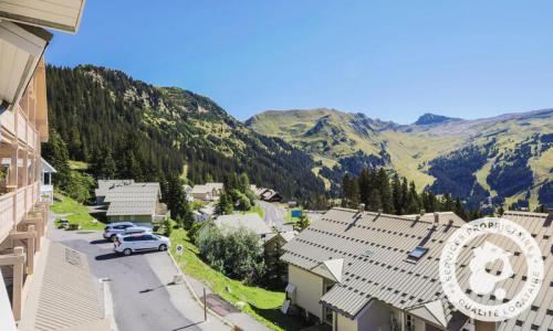 Wakacje w górach Apartament 2 pokojowy 7 osób (Confort 55m²-2) - Résidence les Châteaux de Crans - Maeva Home - Flaine - Na zewnątrz latem
