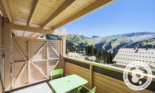 Location au ski Studio 4 personnes (Confort 27m²-1) - Résidence les Châteaux de Crans - Maeva Home - Flaine - Extérieur été