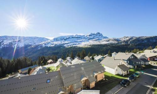 Location au ski Appartement 5 pièces 10 personnes (Prestige 129m²-3) - Résidence les Châteaux de Crans - Maeva Home - Flaine - Extérieur été