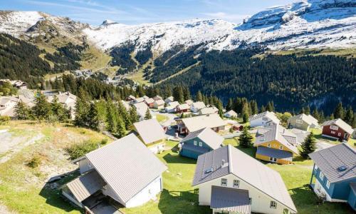 Location au ski Résidence les Châteaux de Crans - Maeva Home - Flaine - Extérieur été